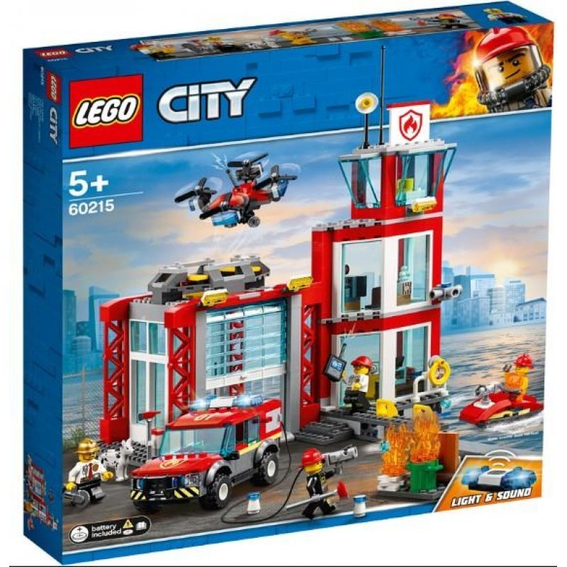 LEGO® City Fire: Fire Station (60215)