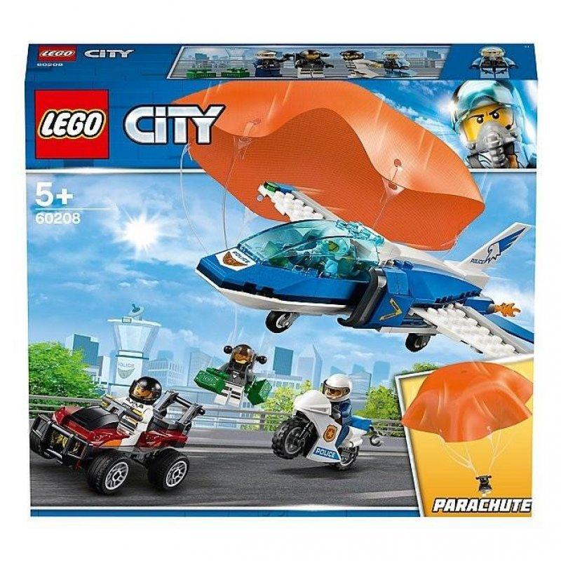 LEGO® City Police: Sky Police Parachute Arrest (60208)