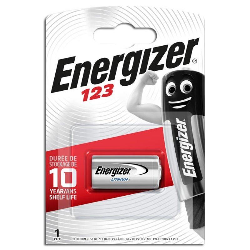 Energizer μπαταρία φώτο-λιθίου EL123 ENERGIZER PHOTO LITHIUM