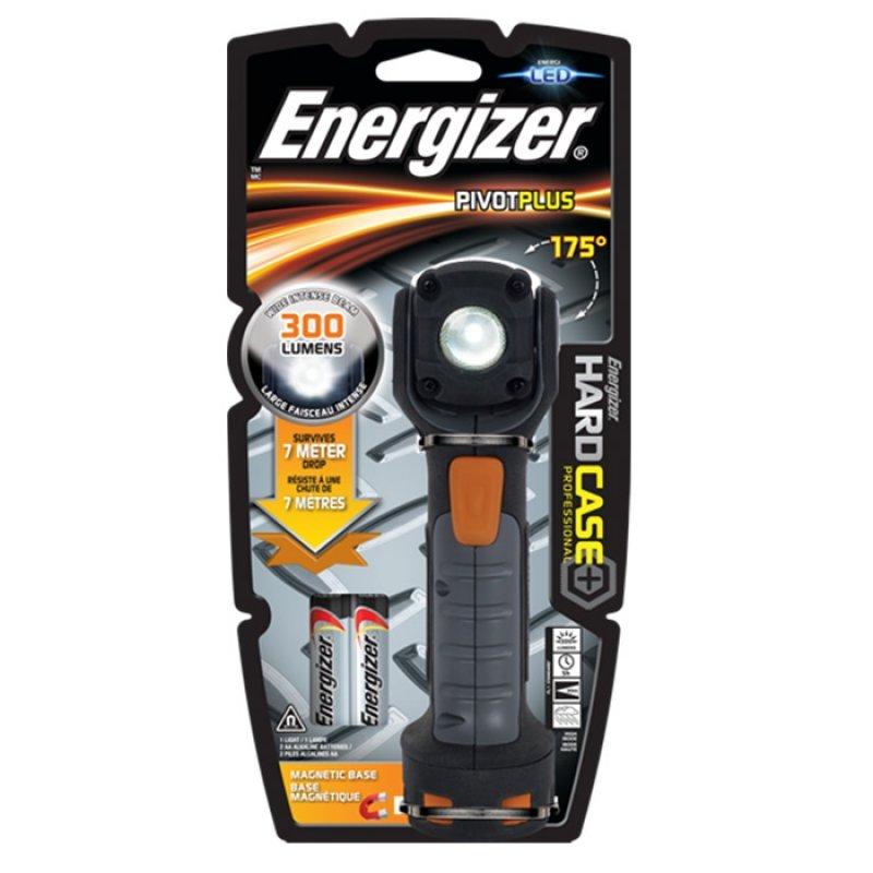 Energizer Hard Case Professional Φακός Με Μαγνήτη, 300 Lumens