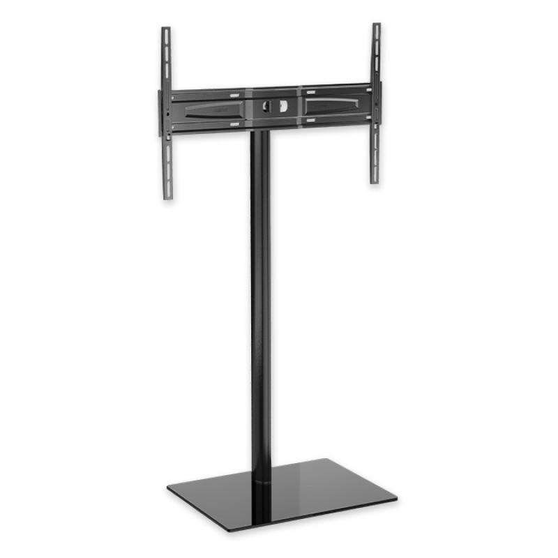 Meliconi Stand 600 Επιδαπέδια Βάση Για Τηλεοράσεις Led/Lcd 50''-82'' Με Premium Γυάλινη Σχεδίαση