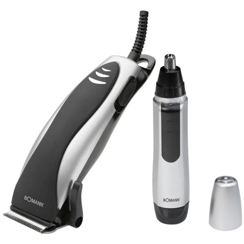 HSM 8007 Σέτ Κουρευτική-Ξυριστική μηχανή Για μαλλιά Και Γέννια,Ρεύματος