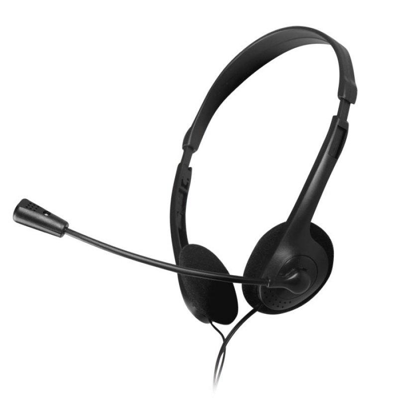 Στερεοφωνικό headset, με σύνδεση 2x3,5mm NOD PRIME HDS-005