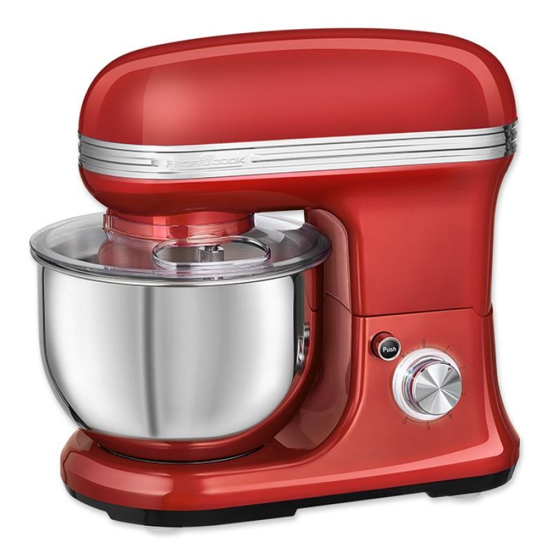 PC-KM 1197 Vintage Κουζινομηχανή Σε Κόκκινο Χρώμα,1200W