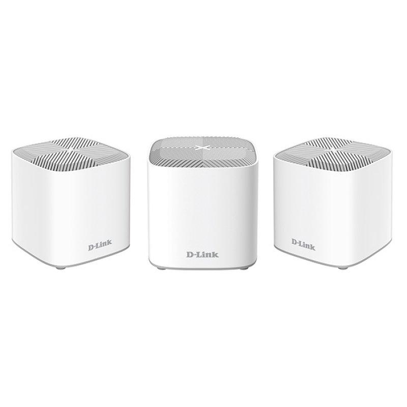 D-LINK COVR-X1863 Home Mesh Wi-Fi 6 System, Με 3 Σημεία COVR Για Κάλυψη Έως Και 600τ.μ.