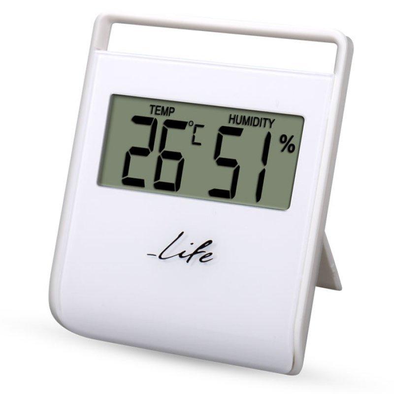 Life Flexy Ψηφιακό Θερμόμετρο/Υγρόμετρο Εσωτερικού Χώρου