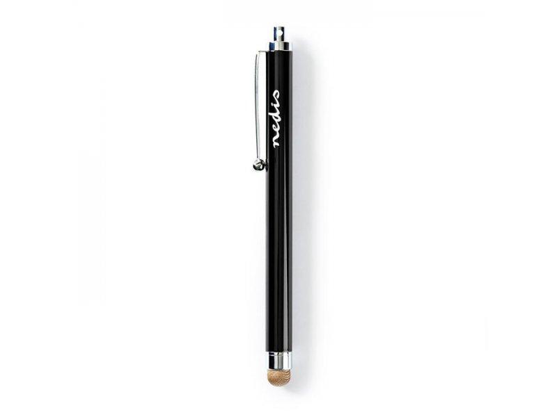 NEDIS STYLC101BK Γραφίδα,Πενάκι Stylus With Copper Cloth Tip Metal Black