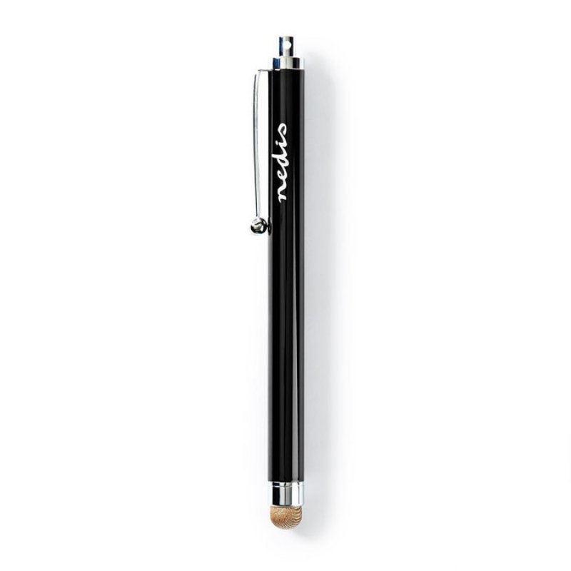NEDIS STYLC101BK Γραφίδα,Πενάκι Stylus With Copper Cloth Tip Metal Black