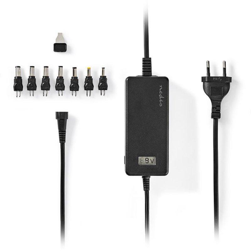 NEDIS ACPA105 Universal Τροφοδοτικό AC Power Adapter 5 to 24 V DC 3.0 A max.