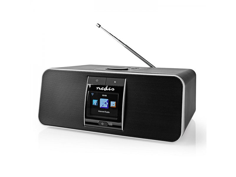 Nedis RDIN5005BK Internet Dab+FM Ραδιόφωνο Με Λειτουργία Bluetooth 42W