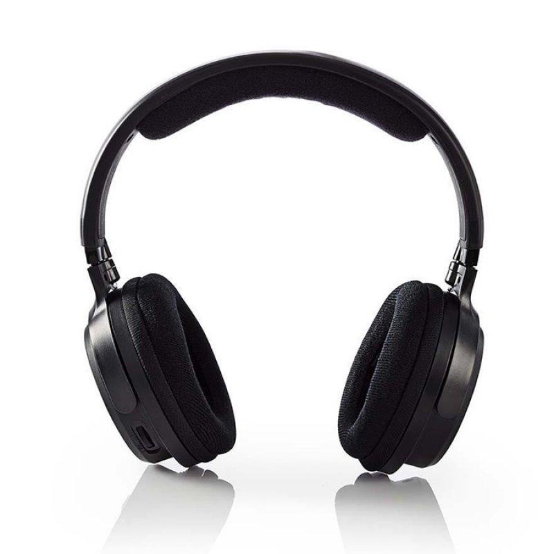 Nedis HPRF200BK Ασύρματα Στερεοφωνικά Ακουστικά 863ΜΗΖ