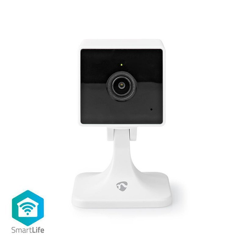 Nedis WIFICI40CWT WiFi Smart IP κάμερα Full HD 1080p για εσωτερικούς χώρους