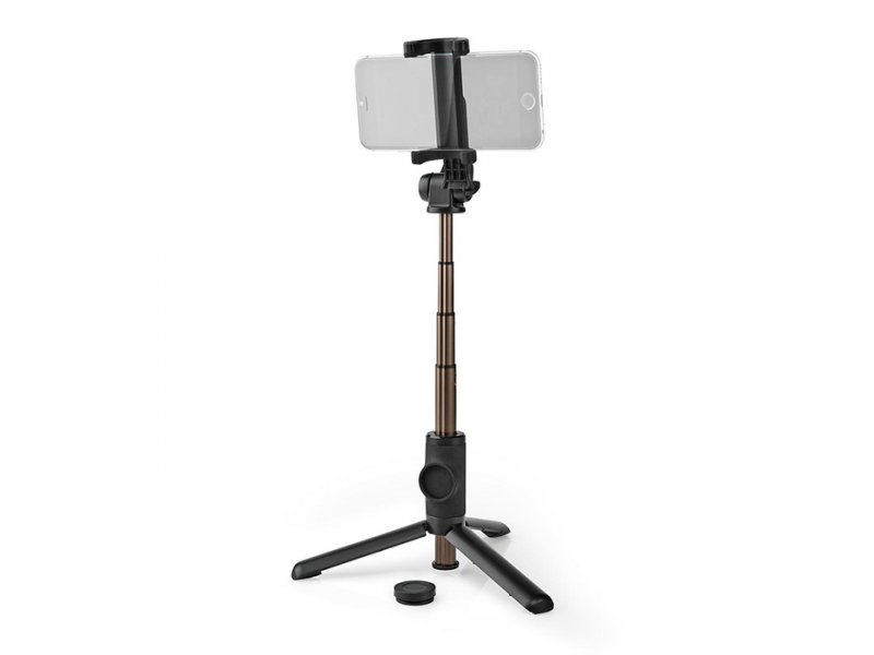 NEDIS SEST250BK 2 σε 1, Selfie Stick Και Τρίποδο Με Αποσπώμενο Τηλεχειριστήριο Bluetooth.