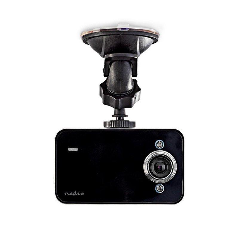 NEDIS DCAM06BK HD Καταγραφική Κάμερα 2.4'' Για Ταμπλό Αυτοκινήτου