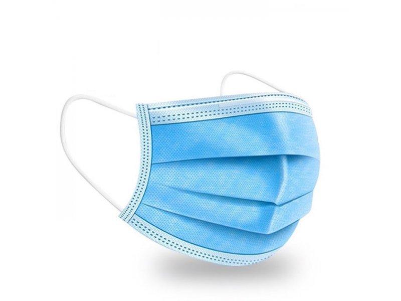 Προστατευτική Μάσκα Προσώπου Με Λάστιχο 3ply Disposable Face Mask