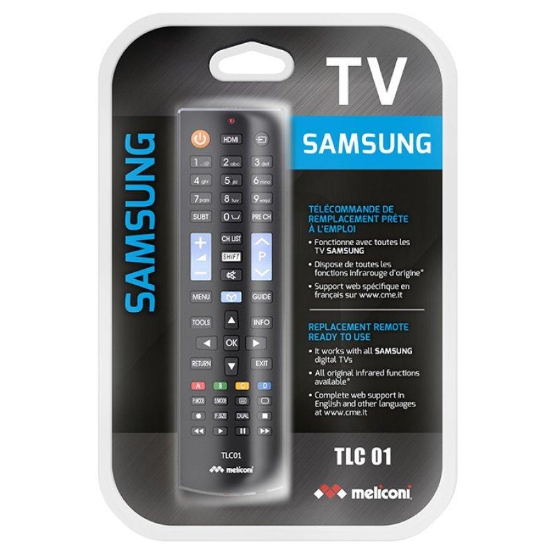 Meliconi TLC01 Τηλεχειριστήριο Αντικατάστασης Για Τηλεοράσεις Samsung