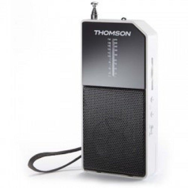 Ραδιόφωνο μπαταρίας τσέπης Thomson MW / FM.