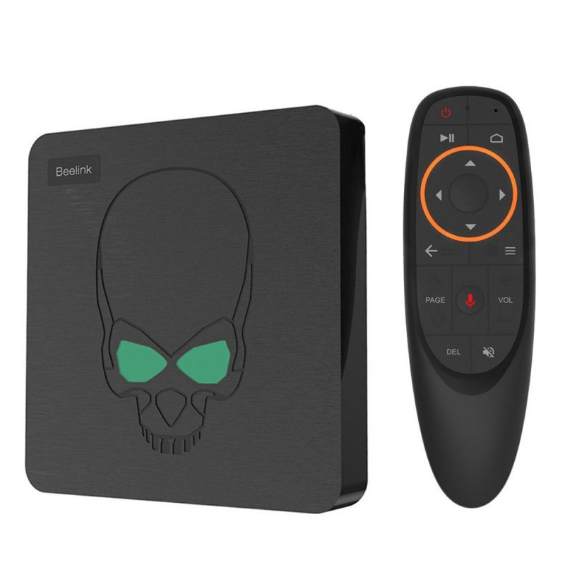 Tv Box Beelink Gt KING 4K 4Gb Ram 64Gb Rom Android 9.0, Bluetooth 4.1 Wi-Fi 2,4/5 G