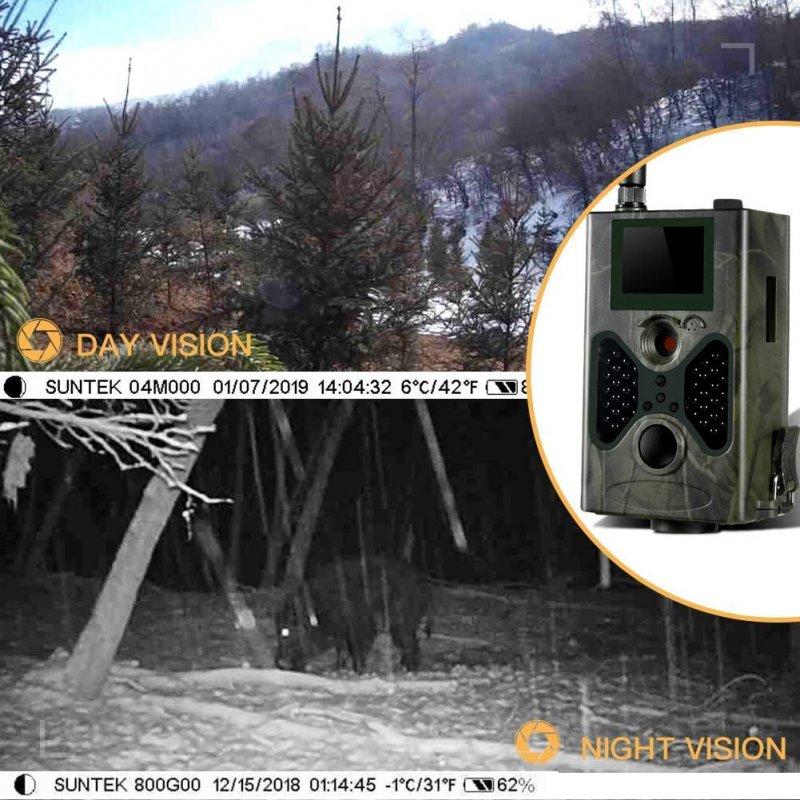 Trail Αυτόνομη κάμερα HD 3G 1080P αδιάβροχη με αποστολή φωτό στο κινητό