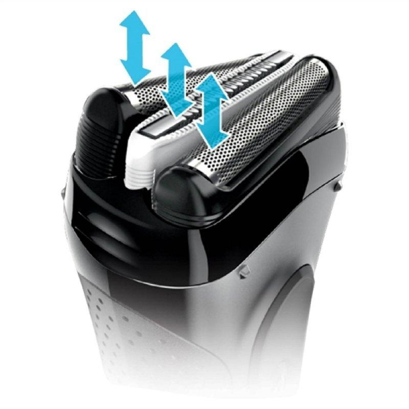Ξυριστική μηχανή επαναφορτιζόμενη/ρεύματος Braun 3020 Wet & DFry