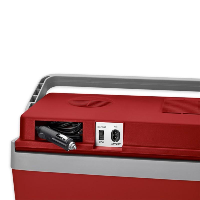 CL KB 3713 Ηλεκτρικό Φορητό Ψυγείο 25L 12V & 220V-240V Σε Κόκκινο Χρώμα
