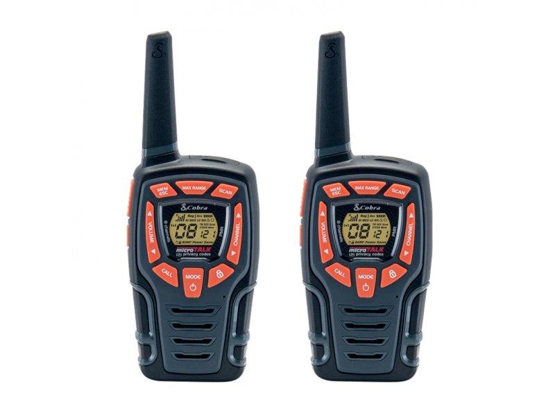 Walkie-Talkie Cobra AM-645 με 8 κανάλια και 121 υπότονους  μέγιστη εμβέλεια 8Km
