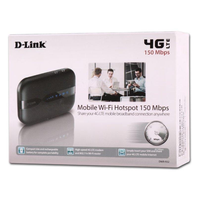 D-Link Κινητό hotspot  4G LTE με ευρυζωνικές υπηρεσίες υψηλής ταχύτητας Wi-Fi