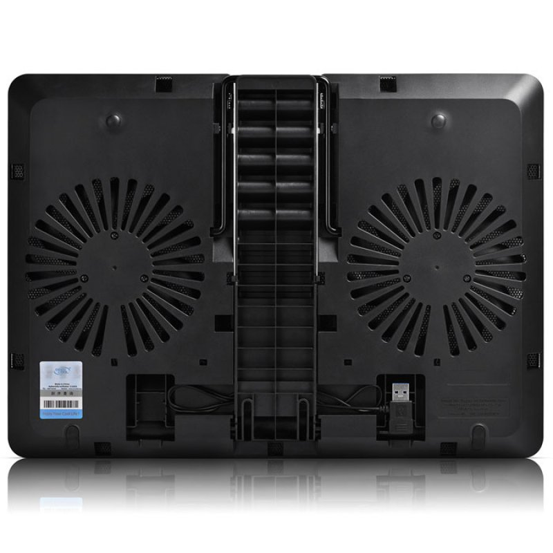 "Notebook cooler Με 2 ανεμιστήρες U-PAL για laptop έως 15.6"""
