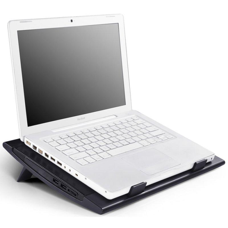 """Notebook cooler Wind Pal FS με 2 ανεμιστήρες για laptop έως και 17.3"""""""