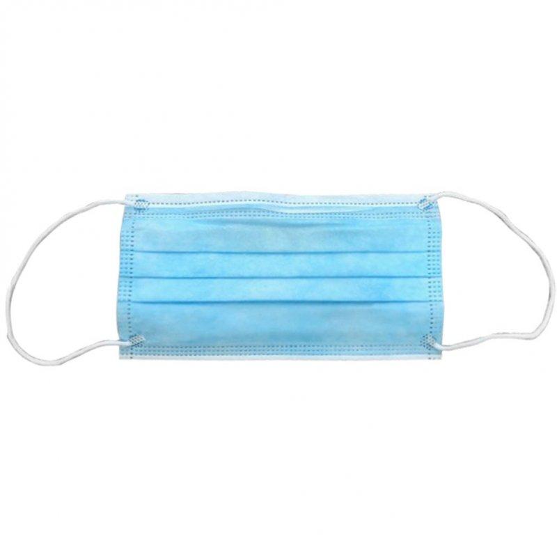 Μάσκα προστασίας μίας χρήσης, 17.5x9.5cm Πακέτο 100 τεμάχια
