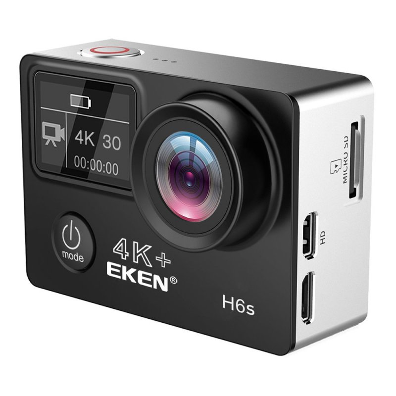 Action Camera EKEN H6S Ultra HD 4K/14MP OLED Διπλή οθόνη