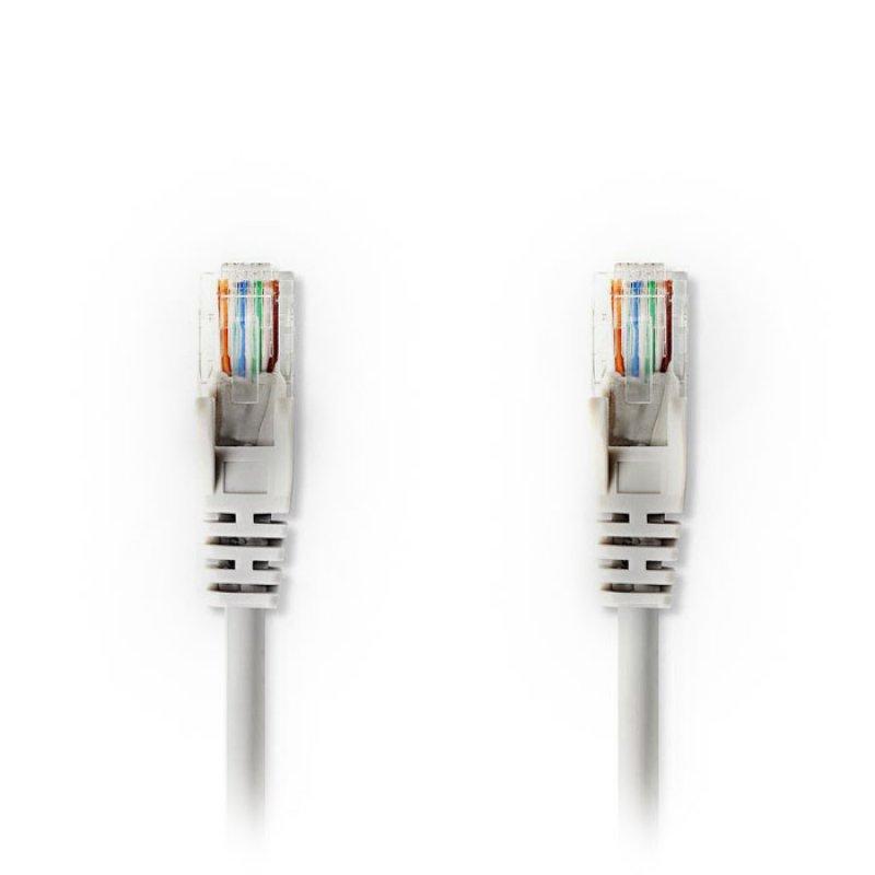 Καλώδιο δικτύου CAT5e, UTP, 2 m, σε γκρι χρώμα