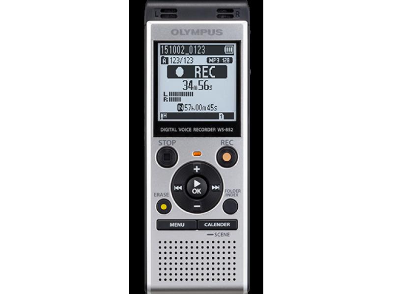 Olympus WS-852 Ψηφιακό καταγραφικό με 4 GB μνήμη + υποδοχή κάρτας micro SD έως 32 GB και σύνδεση υπολογιστή