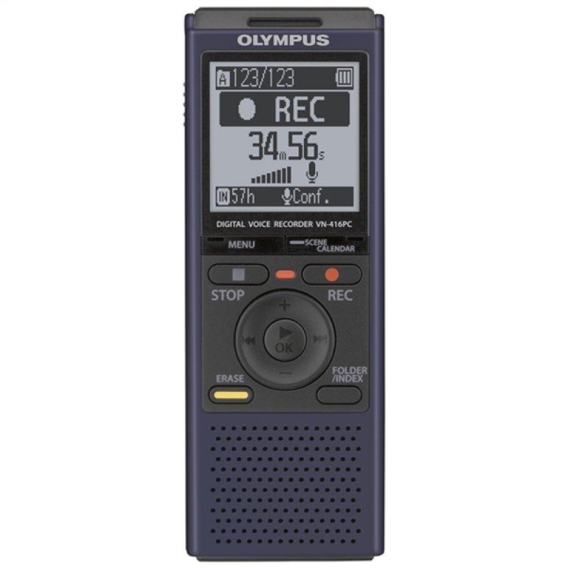 Olympus VN-416PC Ψηφιακός καταγραφέας με 4 GB μνήμη + υποδοχή κάρτας micro SD έως 32 GB και σύνδεση υπολογιστή