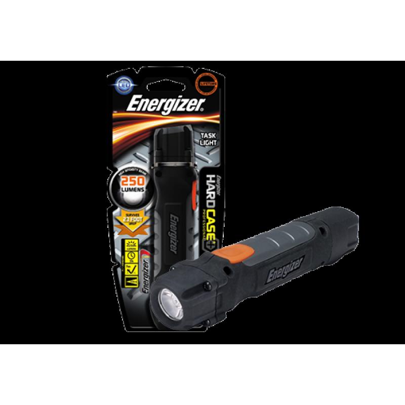 Φακός χειρος Energizer Hard Case Professional 2xAA, με 1 LED και φωτεινότητα 30 lumens.