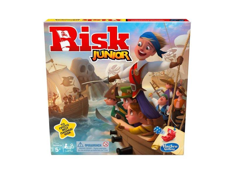Hasbro Επτραπέζιο Παιχνίδι Risk Junior (E 6936)