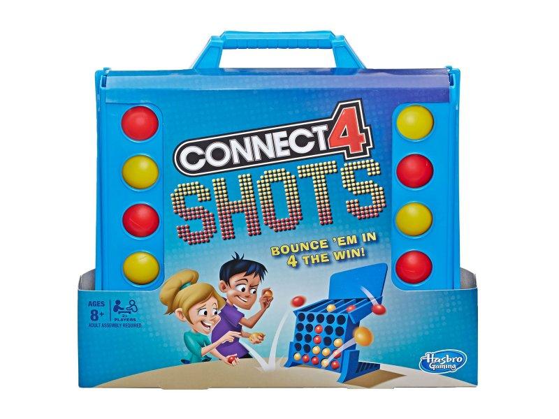 Hasbro Επιτραπέζιο Παιχνίδι Score 4-Connect 4 Shots (E 3578)