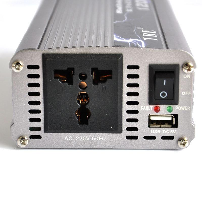 Inverter Αυτοκινήτου 1200W για μετατροπή DC ρεύματος σε AC