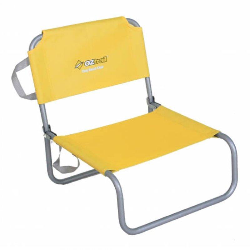 Καρέκλα Παραλίας OZTRAIL Cosy Beach Yellow