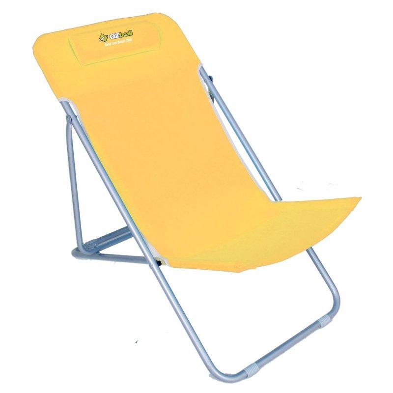 Καρέκλα Παραλίας OZTRAIL Sand Trax Beach Yellow