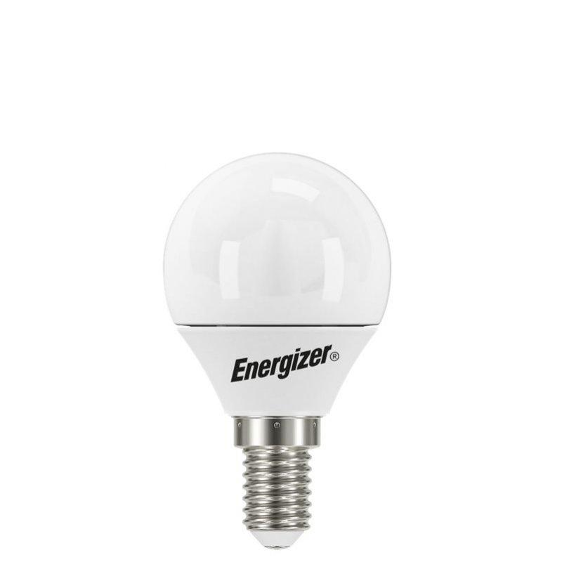 Λάμπα LED Σφαιρική, 5.2 Watt, 470 Lumen, 2700K, E14, Energizer S16579