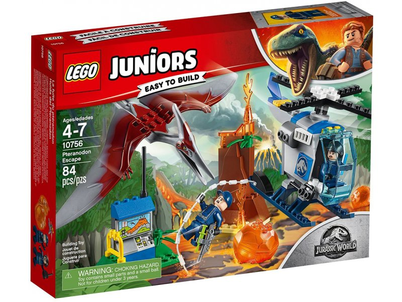 Lego Juniors Easy To Build Jurassic World:Pteranodon Escape Διαφυγή Πτερανόδοντα (10756)