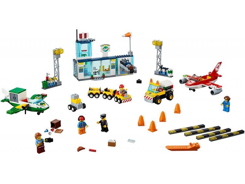 Lego Juniors: City Central Airport Κεντρικό Αεροδρόμιο Της Πόλης (10764)