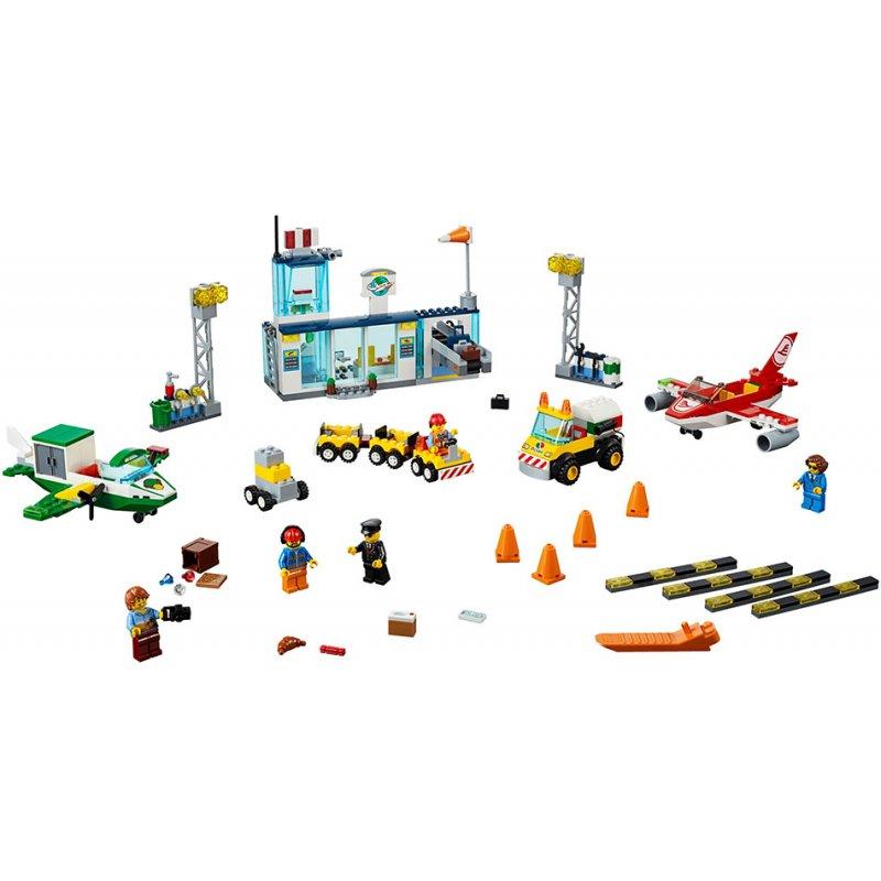 Lego Juniors: City Central Airport Κεντρικό Αεροδρόμιο Της Πόλης (10764)