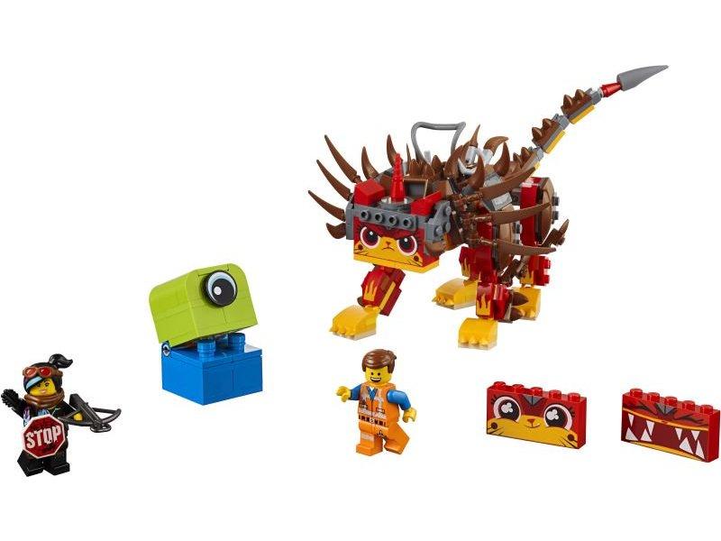 Lego Movie 2: UltraKatty & Warrior Lucy!Ούλτρα Γατούλα Και Πολεμίστρια Λούσυ (70827)