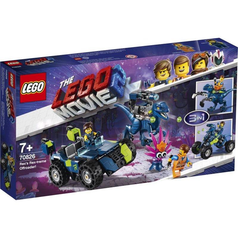 Lego Movie 2:Rex-Treme Offroader!Όχημα Εκτός Δρόμου Του Ρέξ (70826)