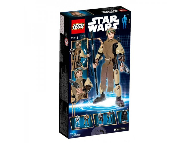Lego Star Wars: Buildable Figures-Rey (75113)