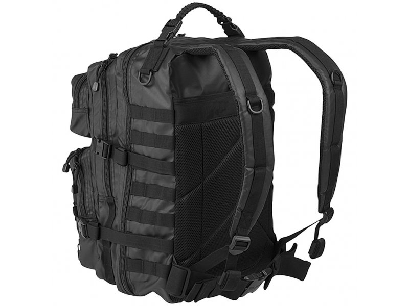 MIL-TEC Σακίδιο Πλάτης 36L Μαύρο Tactical Black BackPack US Assault L 14002288
