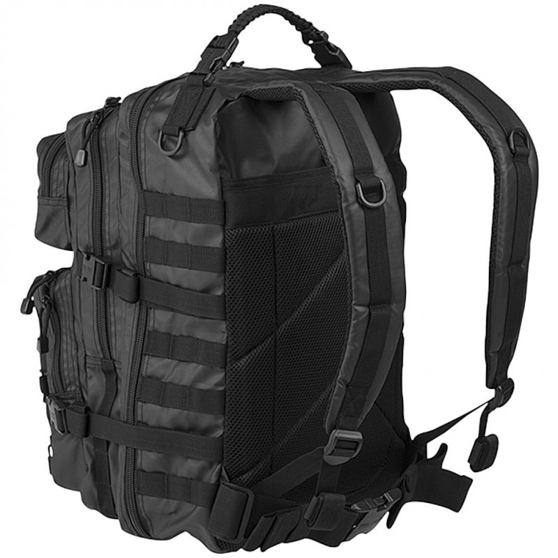 MIL-TEC Σακίδιο Πλάτης 36L Μαύρο Tactical Black BackPack US Assault L 14002288