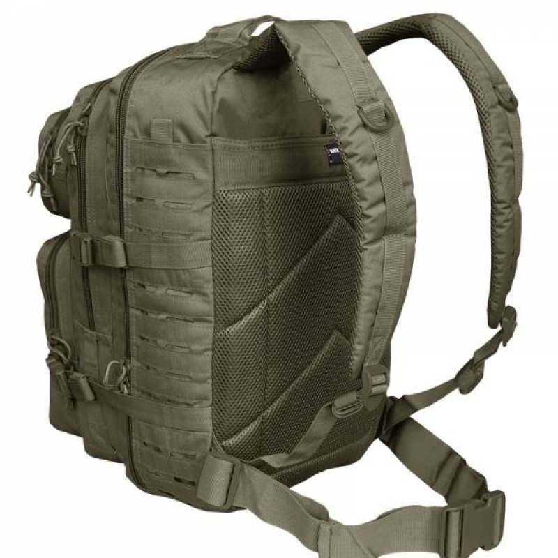 MIL-TEC Σακίδιο Πλάτης 36L US Χακί Laser Cut Assault Backpack LG 14002701